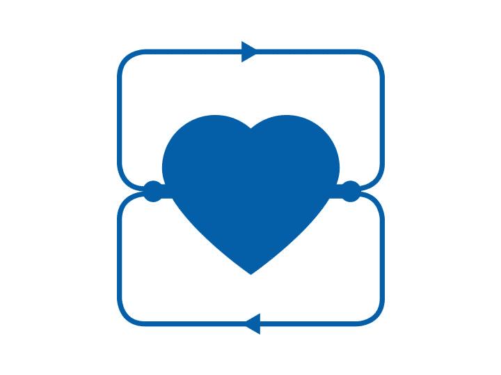 Icon Studie Herz und Kreislauf - Klinische Forschung Novartis