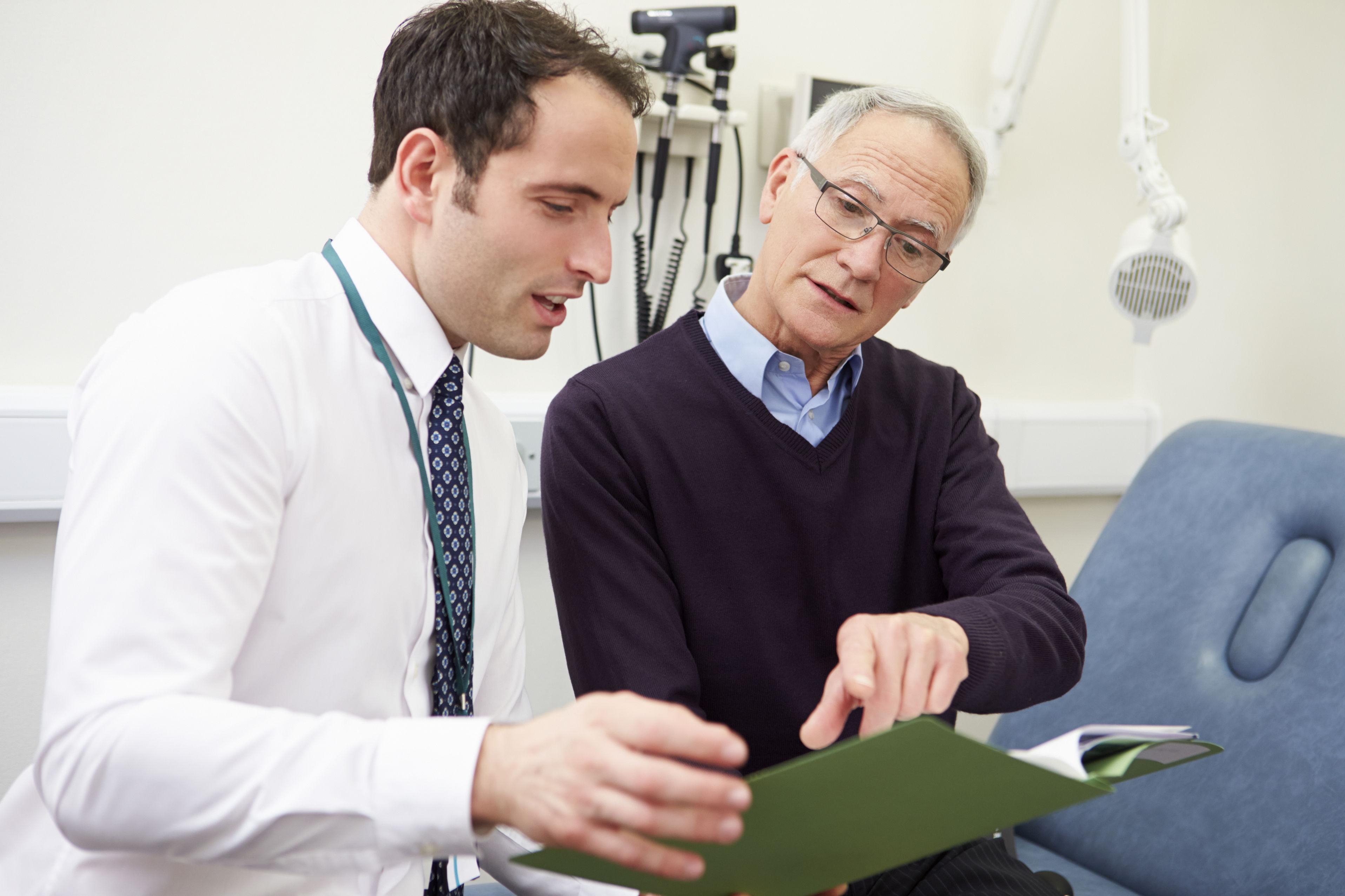 Diskussion über Testergebnisse mit Patienten - Klinische Forschung Novartis