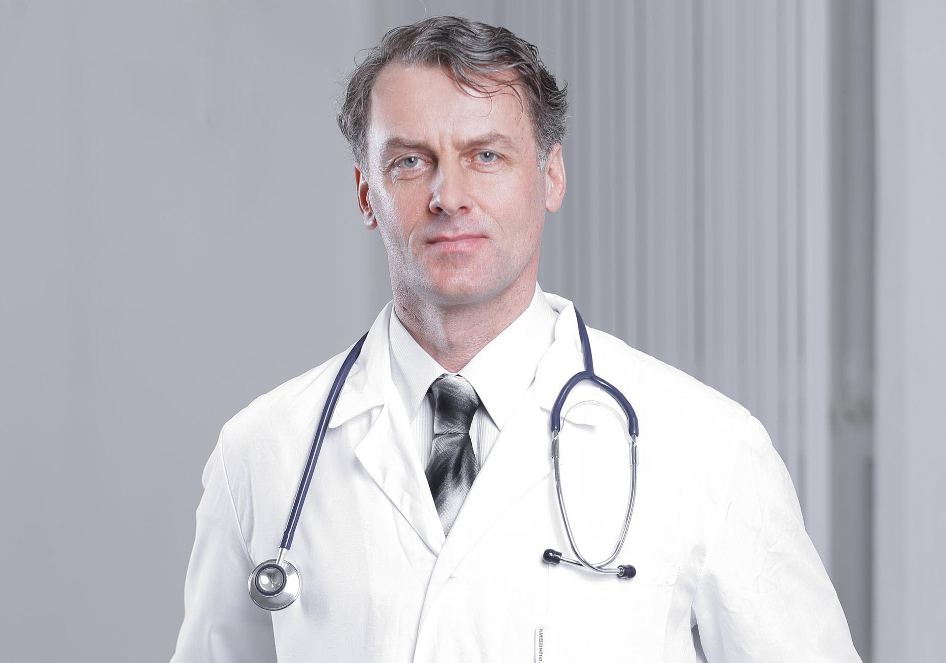 Arzt für klinische Studien der Novartis