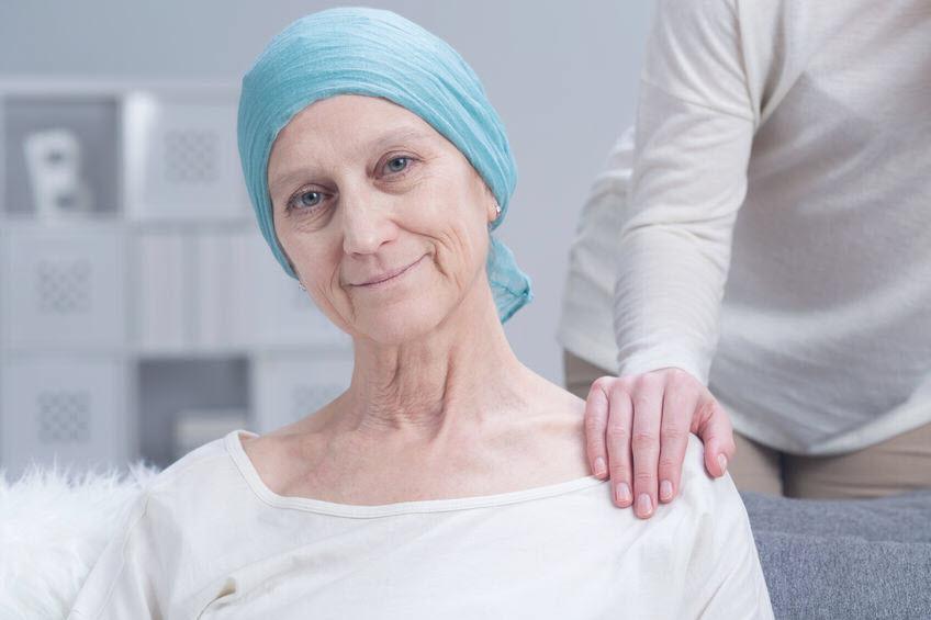 NSCLC-Patientin mit Lungenkrebs
