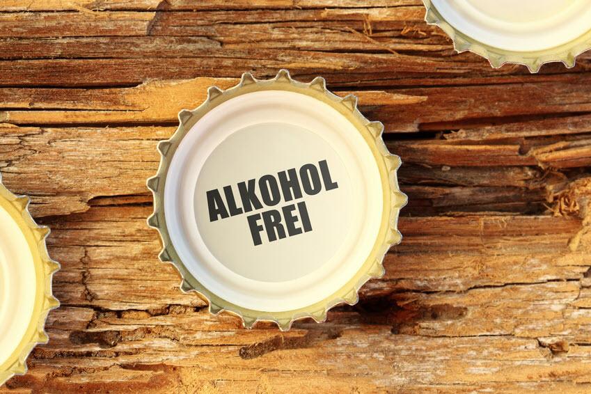 Bierkrone als Visual für nichtalkoholische Fettleber
